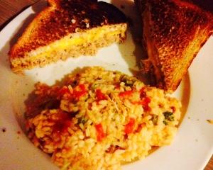 Tuna Melt & Rice via Chef JJ
