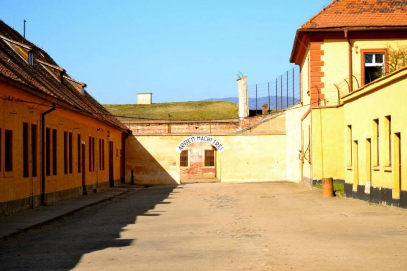 Terezin, Czech Republic. Former Nazi Ghetto and Concentration Camp.