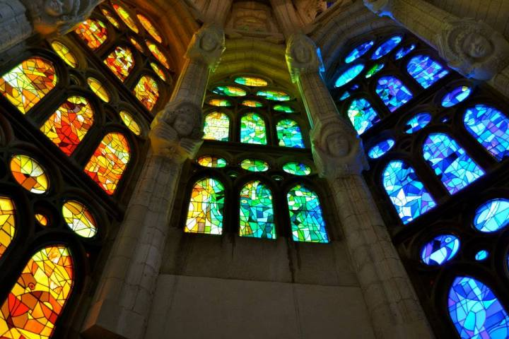 Sagrada Familia. Gaudi's Masterpiece.